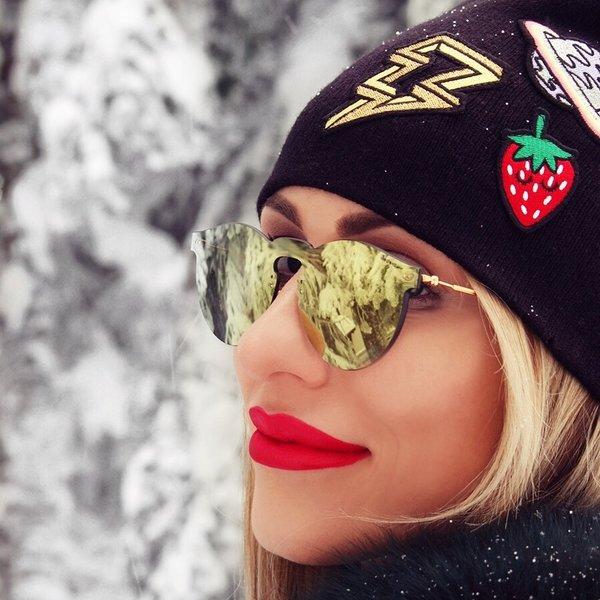 Kako nositi bronzer zimi by @anastasijastasha