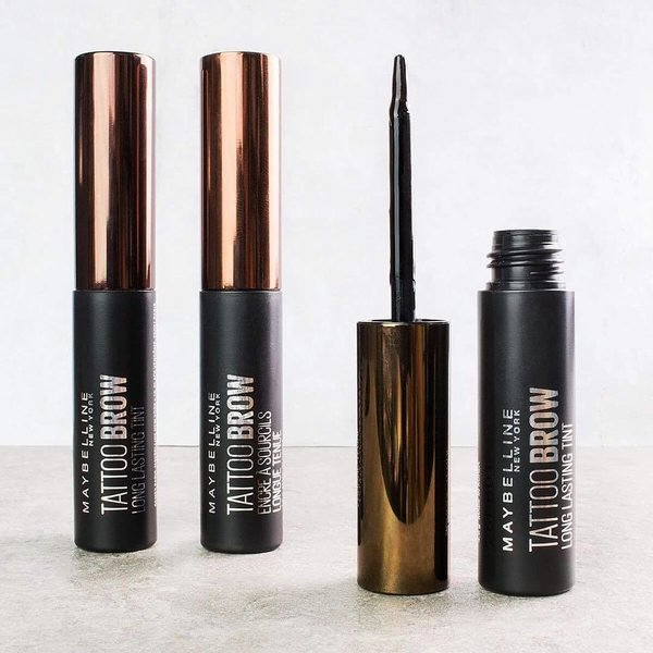 Maybelline Brow Tattoo peel-off gel u boji