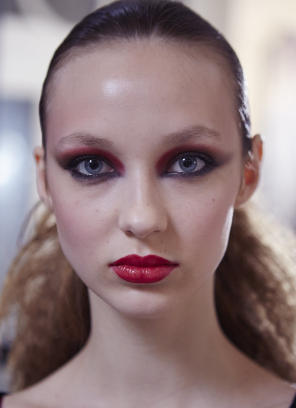 Paris Fashion Week: Backstage beauty inspiracija - vanessa-seward