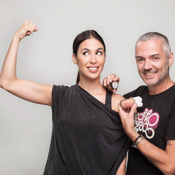 Make-up in the City: Dugotrajna šminka i vežbanje - Dunja Jovanić