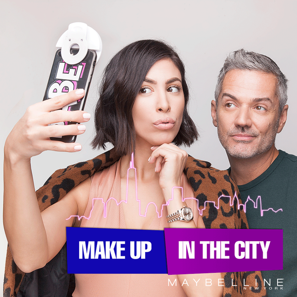 Make-up in the City: Makeup za selfie