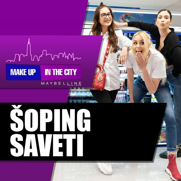 Make Up In The City – Šoping saveti