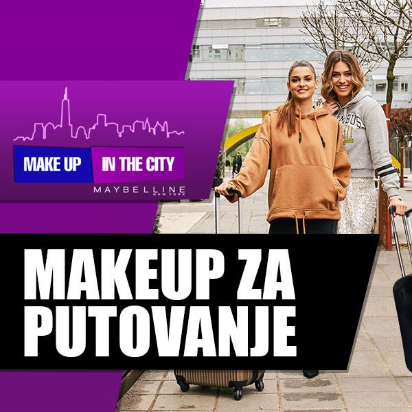 Make Up In The City: Koje makeup proizvode nosiš na putovanje?
