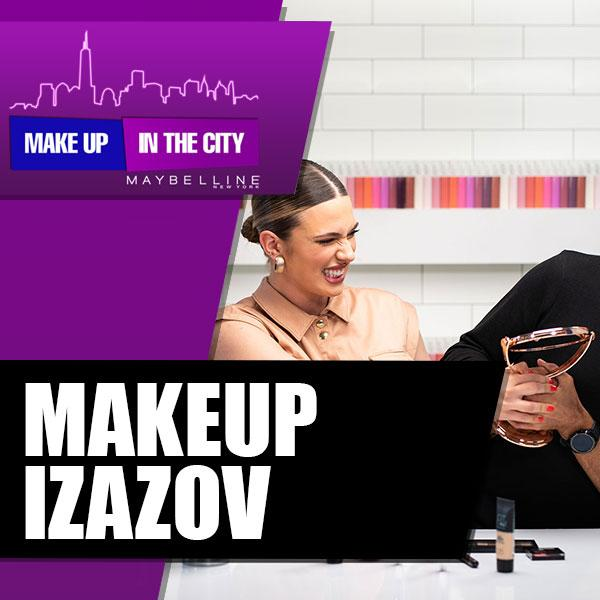 Make Up In The City: No mirror makeup challenge