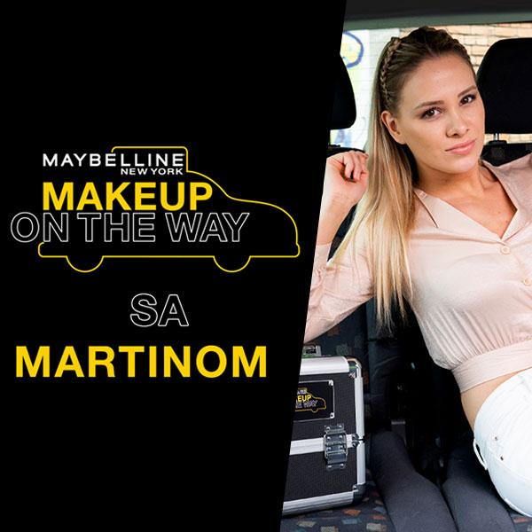 Make Up In The City: Taksi izazov sa Martinom