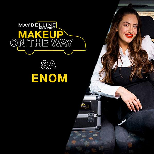Make Up In The City: Ena Luna u taksi izazovu
