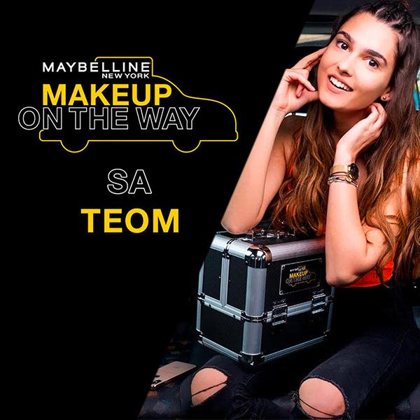 Make Up In The City: Taksi izazov sa Teom
