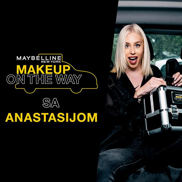 Makeup in the City predstavlja Taxi izazov sa Anastasijom