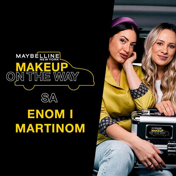 Makeup In The City: Taksi izazov sa Enom i Martinom