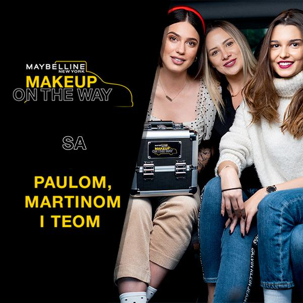 Makeup In The City: Taksi izazov sa Paulom, Teom i Martinom